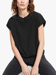 And Or Cotton Tank T Shirt Black