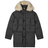Jil Sander Canvas Down Artic Parka Black