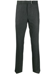 Officine Generale Paul Straight Leg Trousers Grey