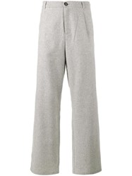 Lot 78 Lot78 Wide Leg Trousers Grey