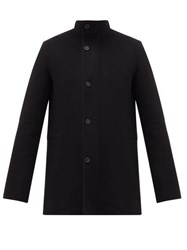 The Row Darren Double Faced Cashmere Field Jacket Black