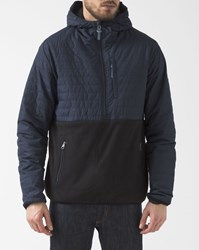 Element Two Colour Navy Blue Lightweight Down Jacket