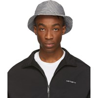 Paa Black And White Gingham Bucket Hat
