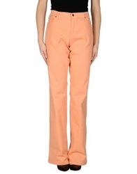 Antonio Fusco Casual Pants Salmon Pink