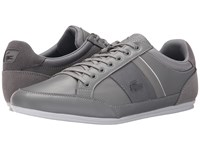 Lacoste Chaymon 116 1 Light Grey Dark Grey Men's Lace Up Casual Shoes Gray