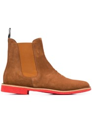 Bottega Veneta Chelsea Boots Brown