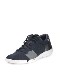 Adidas By Stella Mccartney Arauana Dance Trainer Sneaker Night Navy Cherry