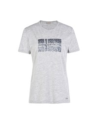 Napapijri T Shirts Light Grey
