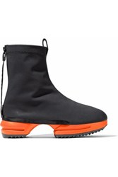 Y 3 Two Tone Neoprene Ankle Boots Black