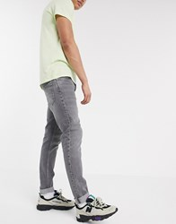 Weekday Sunday Relaxed Tapered Jeans In Grey