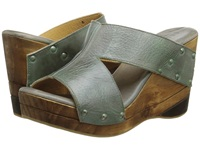 Bed Stu Olea Grey Rustic Teal Bfs Women's Wedge Shoes Green