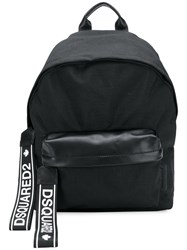 Dsquared2 Logo Backpack Black
