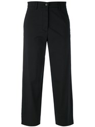 Barena Cropped Trousers Black
