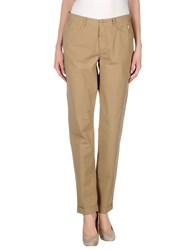 Jaggy Trousers Casual Trousers Women Khaki