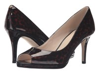 Cole Haan Davis Ot Pump Tortoise Patent High Heels Brown