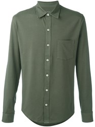 Closed Patch Pocket Shirt Green