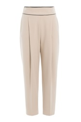 Hugo Cropped Harem Pants Brown