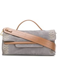 Zanellato Nina Shoulder Bag Grey