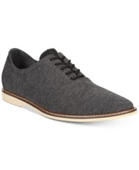 Bar Iii Dylan Lace Up Oxfords Created For Macy's Shoes Charcoal