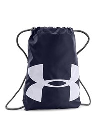 Under Armour Ozsee Logo Print Sackpack Midnight
