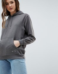 Blend She Hoodie With Front Pouch Grey