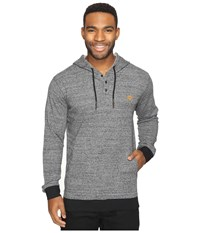 Rip Curl Whaler Hooded Pullover Charcoal Men's Sweatshirt Gray