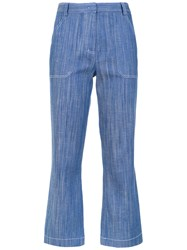 Spacenk Nk Cropped Jeans Blue