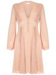 Ghost Robyn Dress Pink Sand