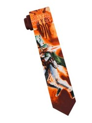 Star Wars Boba Fett Tie Burgundy