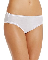 Fine Lines Pure Cotton Hi Cut Brief 13Rhc34 White