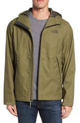 The North Face Men's 'Millerton' Dryvent Waterproof Hooded Jacket Burnt Olive Green