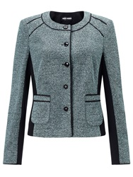 Gerry Weber Boucle Jacket Black Green