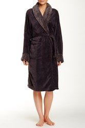 Blush Lingerie Lara Robe Gray