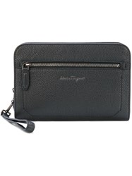Salvatore Ferragamo Firenze Clutch Black
