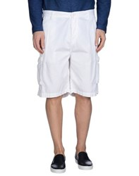Japan Rags Trousers Bermuda Shorts Men White