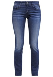 Replay Rose Slim Fit Jeans Washed Blue Dark Blue