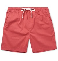 J.Crew Stretch Cotton Twill Drawstring Shorts Red