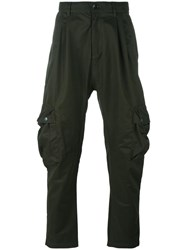Adidas Originals Tapered Cargo Trousers Green