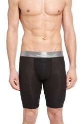 Tommy John Second Skin Titanium Boxer Briefs Black