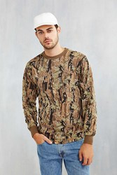 Rothco Camo Long Sleeve Tee Brown