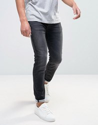 Selected Jeans Slim Fit In Black Black
