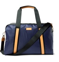 Paul Smith Leather Trimmed Two Tone Shell Holdall Navy