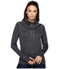 Kuhl L A Pullover Carbon Women's Long Sleeve Pullover Gray