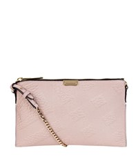 Burberry Shoes And Accessories Peyton Cross Body Clutch Female Light Pink