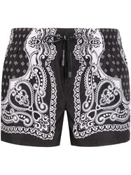Dolce And Gabbana Bandana Print Swimming Shorts 60