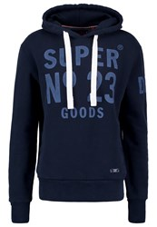 Superdry Heritage Beach Hoodie Navy Dark Blue