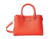 Vince Camuto Thea Small Satchel Poppy Red Satchel Handbags