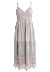 Oh My Love Sweet Pea Maxi Dress Grey