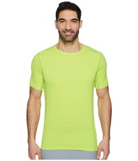 Brooks Ghost Short Sleeve Lime Workout Green