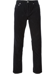 Band Of Outsiders Corduroy Trousers Black